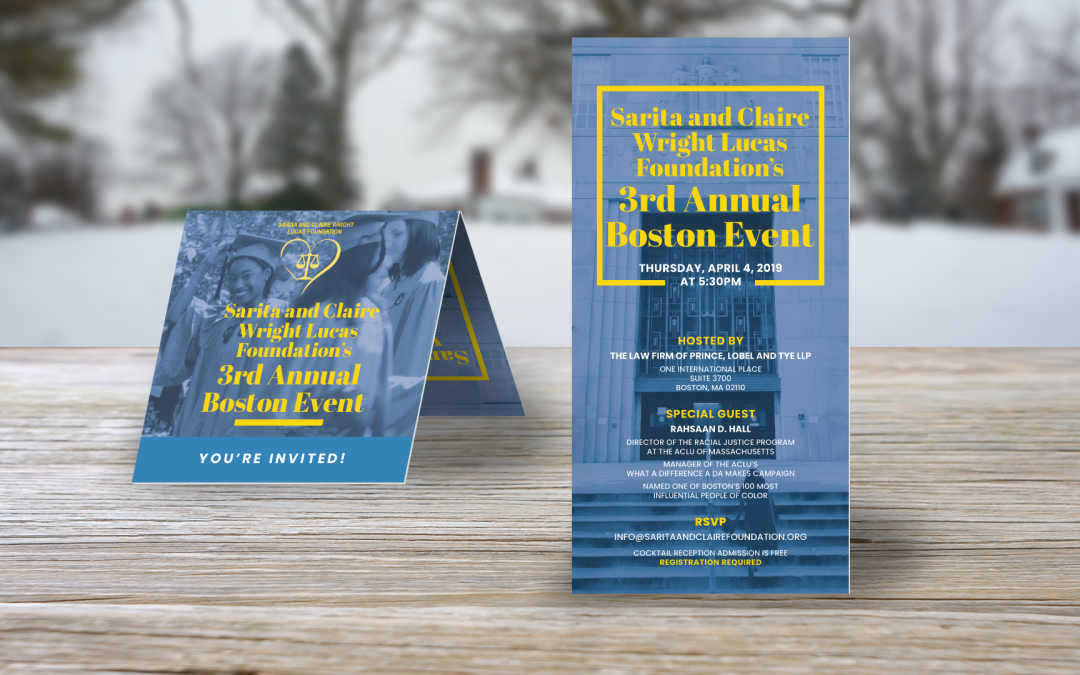 SACF 3rd Annual Boston Event